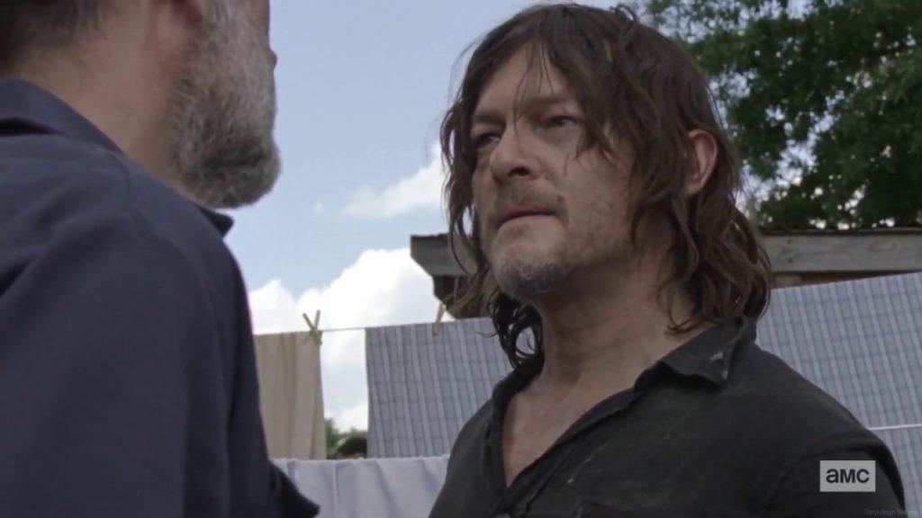 'The Walking Dead' - Daryl y Negan