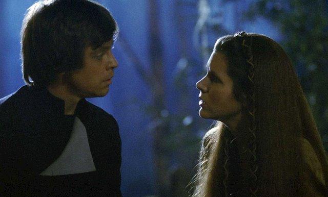 El retorno del Jedi - Luke y Leia