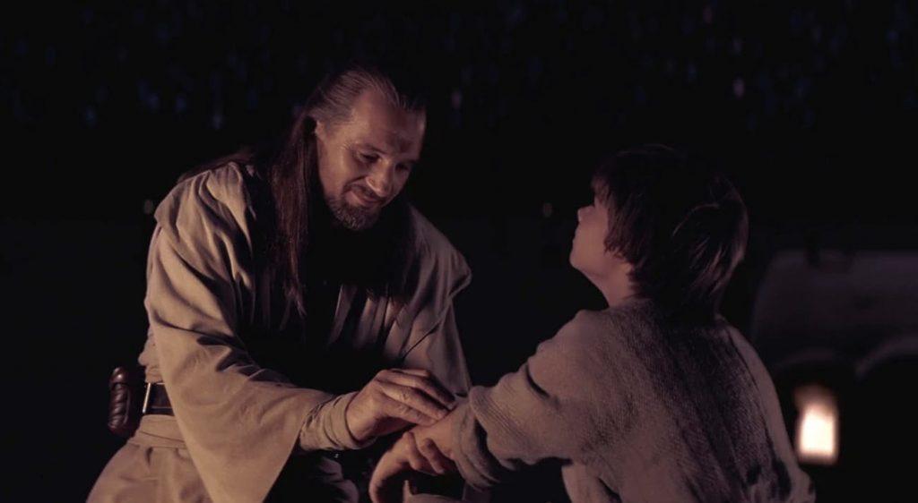 Qui-Jon y Anakin