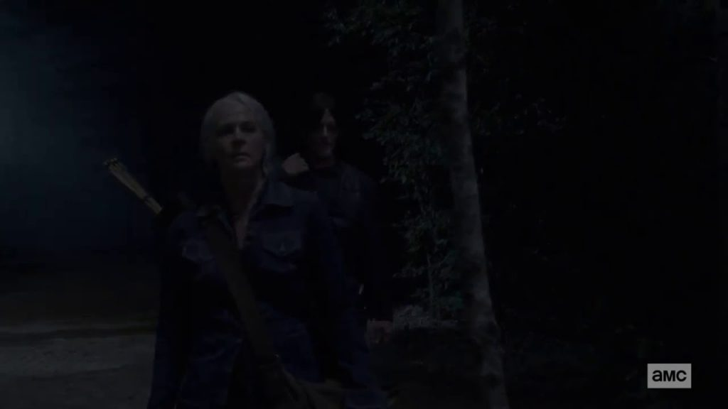 The Walking Dead 10x08 - Daryl y Carol