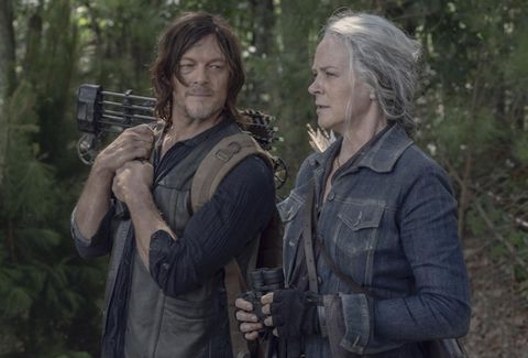 The Walking Dead - Daryl y Carol