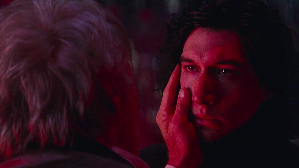 Ben Solo y Han Solo