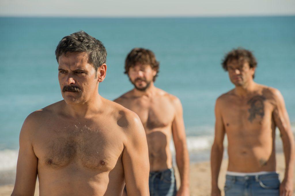 El Embarcadero - Roberto Enríquez, Álvaro Morte y Paco Manzanedo
