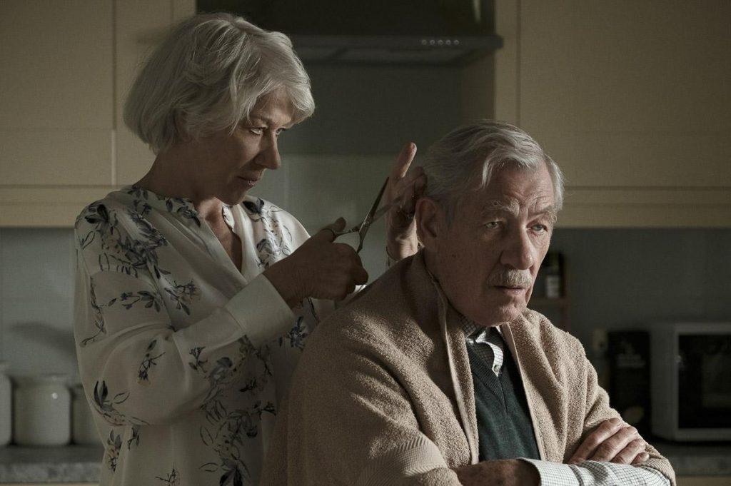 Ian McKellen y Helen Mirren en 'La gran mentira'