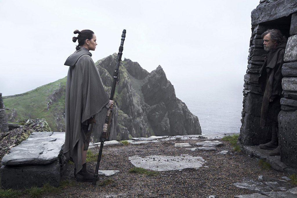 Los últimos Jedi - Luke y Rey