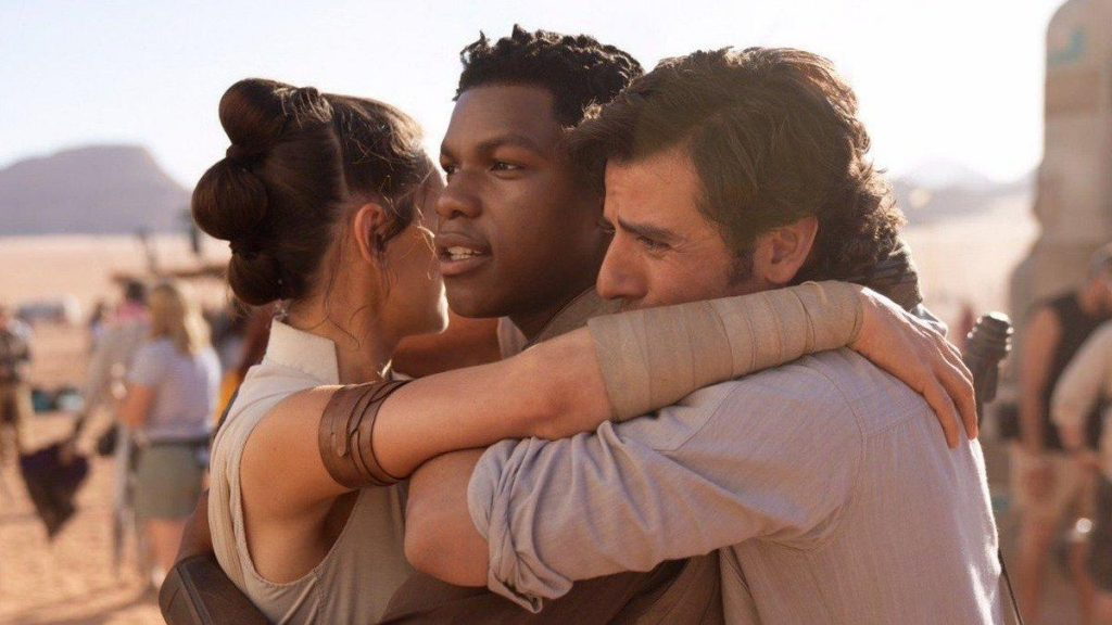 Star Wars - Rey, Finn y Poe