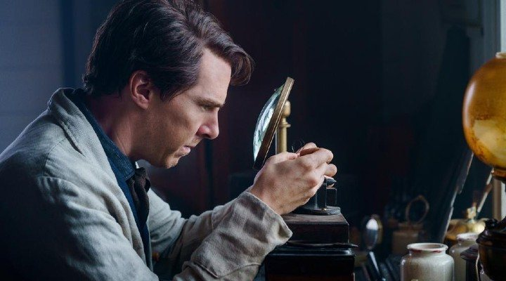 Benedict Cumberbatch en La guerra de las corrientes