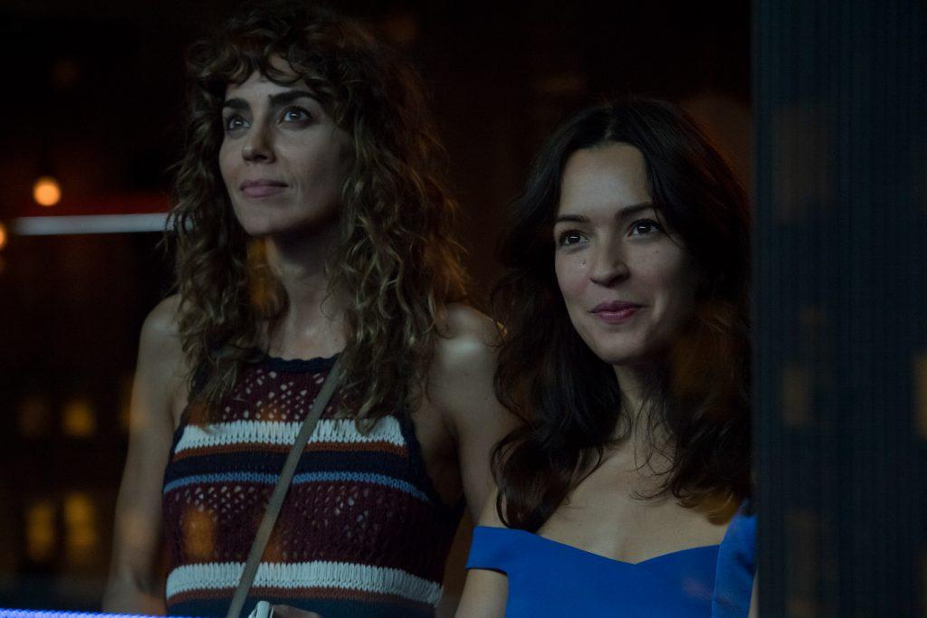Irene Arcos y Verónica Sánchez