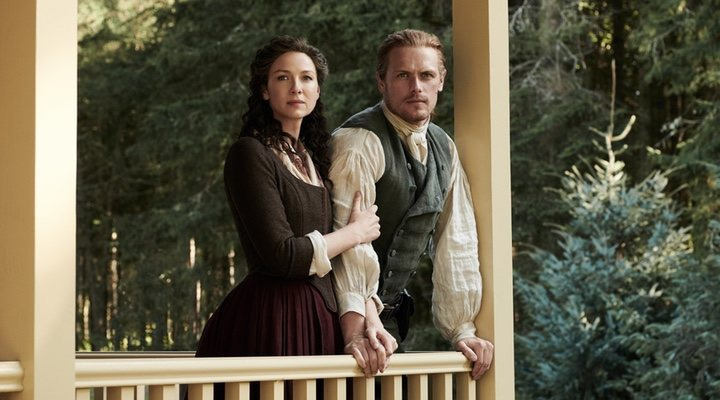 Claire y Jamie, los protagonistas de siempre
