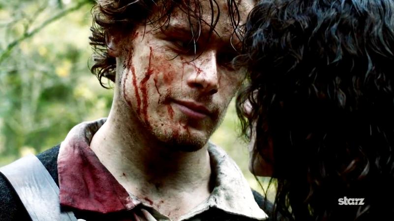 Jamie Fraser en 'Outlander'