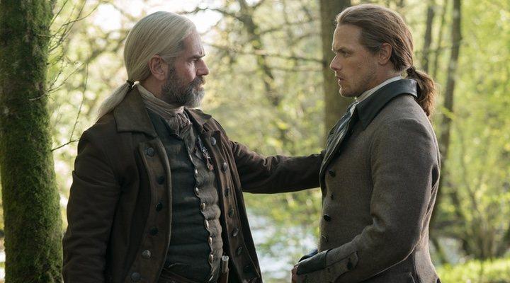 Jamie y Murtagh en el 5x01 de 'Outlander'