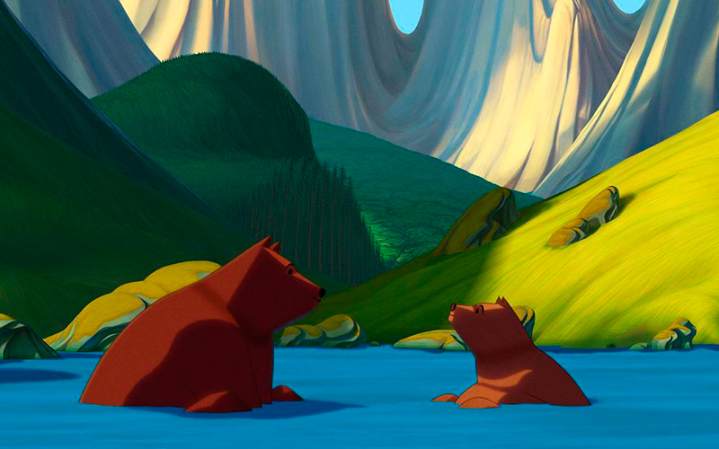 Una de las primeras escenas de 'La famosa invasión de los osos en Sicilia'