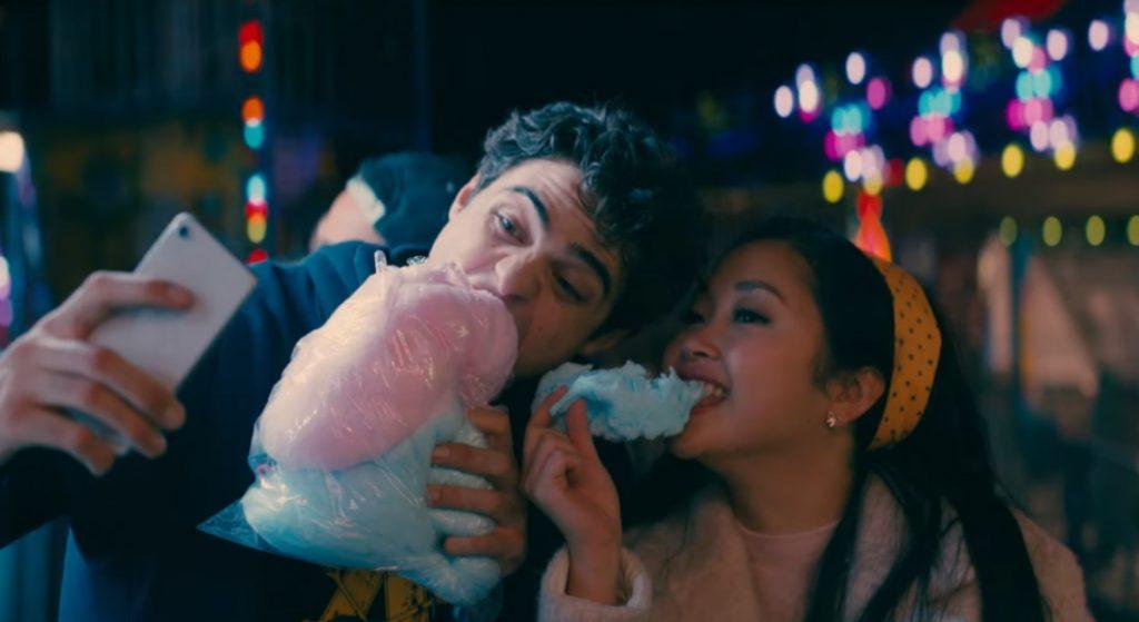 Lana Condor y Noah Centineo en 'A todos los chicos de los que me enamoré 2'