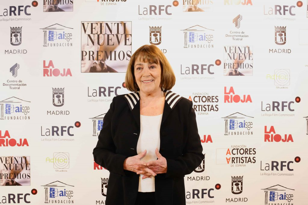 Carmen Maura en la rueda de prensa de presentación de la 29 edición de los Premios Unión de Actores y Actrices