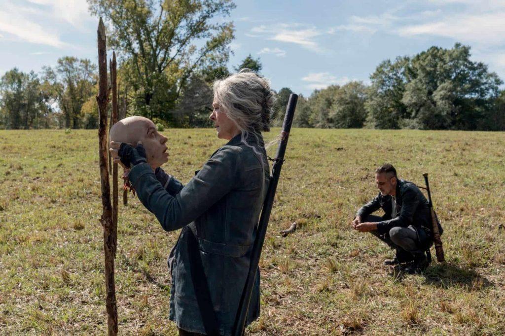 The Walking Dead - Carol y Negan