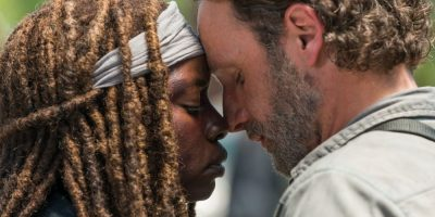 The Walking Dead - Michonne y Rick