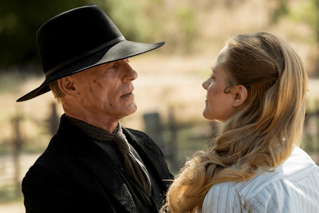 William y Dolores en la primera temporada de 'Westworld'