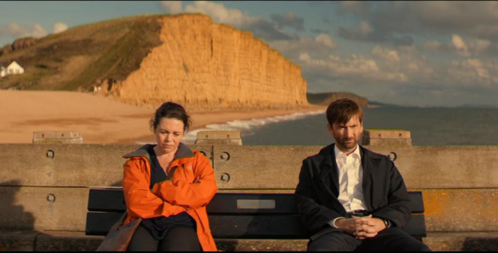 Broadchurch - David Tennant y Olivia Colman