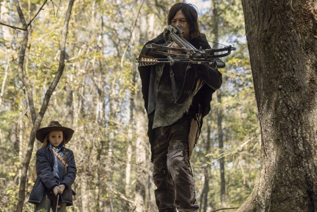 The Walking Dead 10x15 - Daryl y Judith