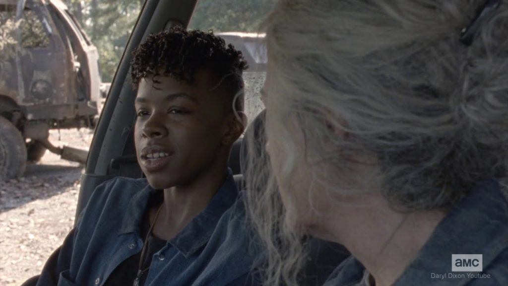 The Walking Dead 10x15 - Kelly y Carol