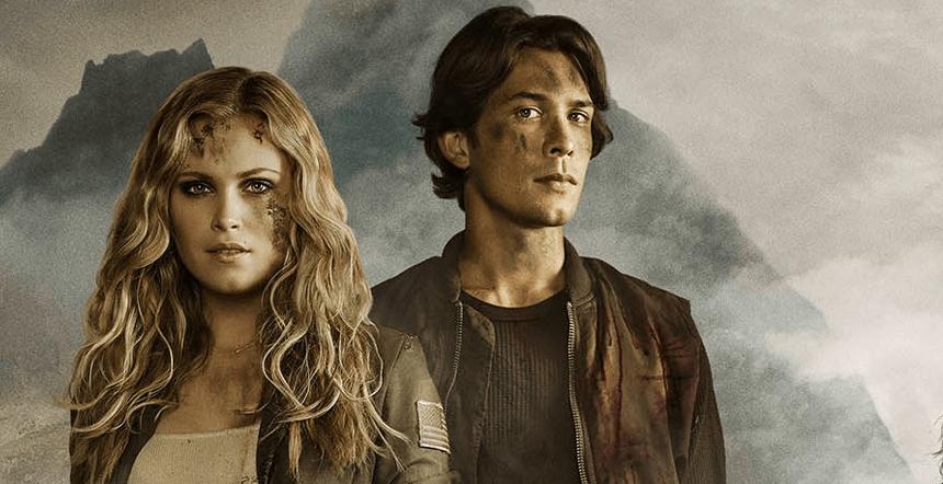 Clarke y Bellamy - 'The 100'