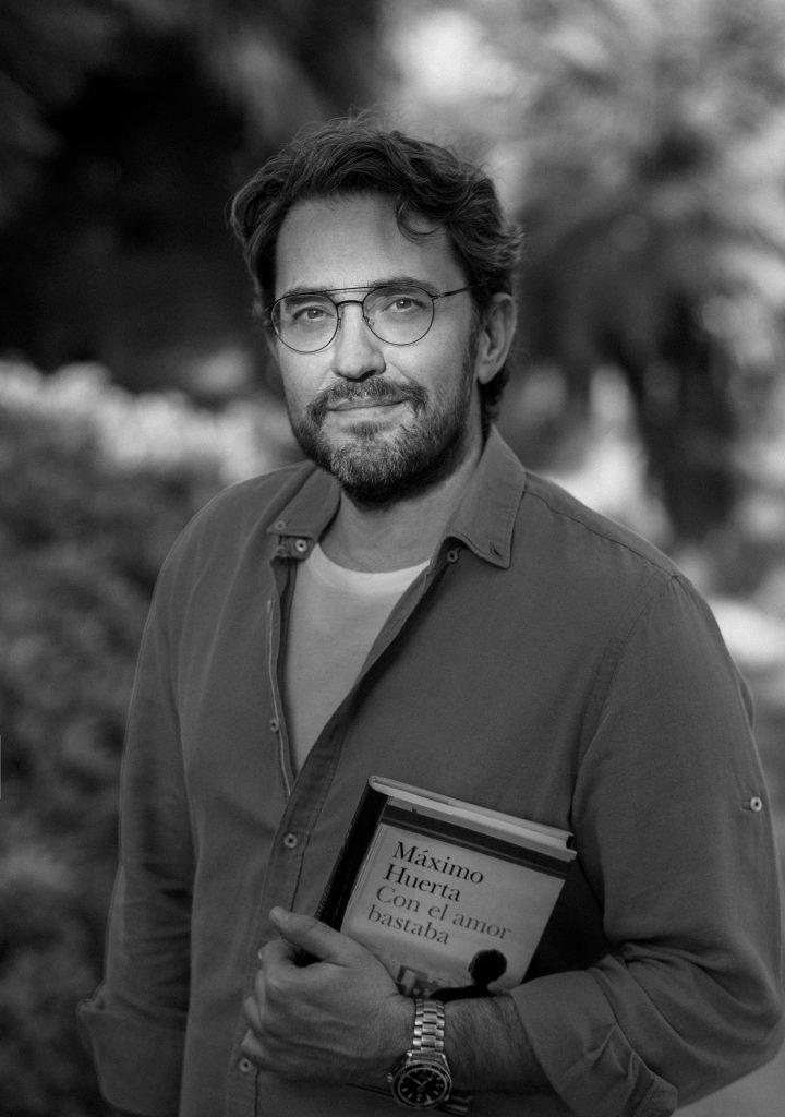Máximo Huerta, autor de 'Con el amor bastaba'