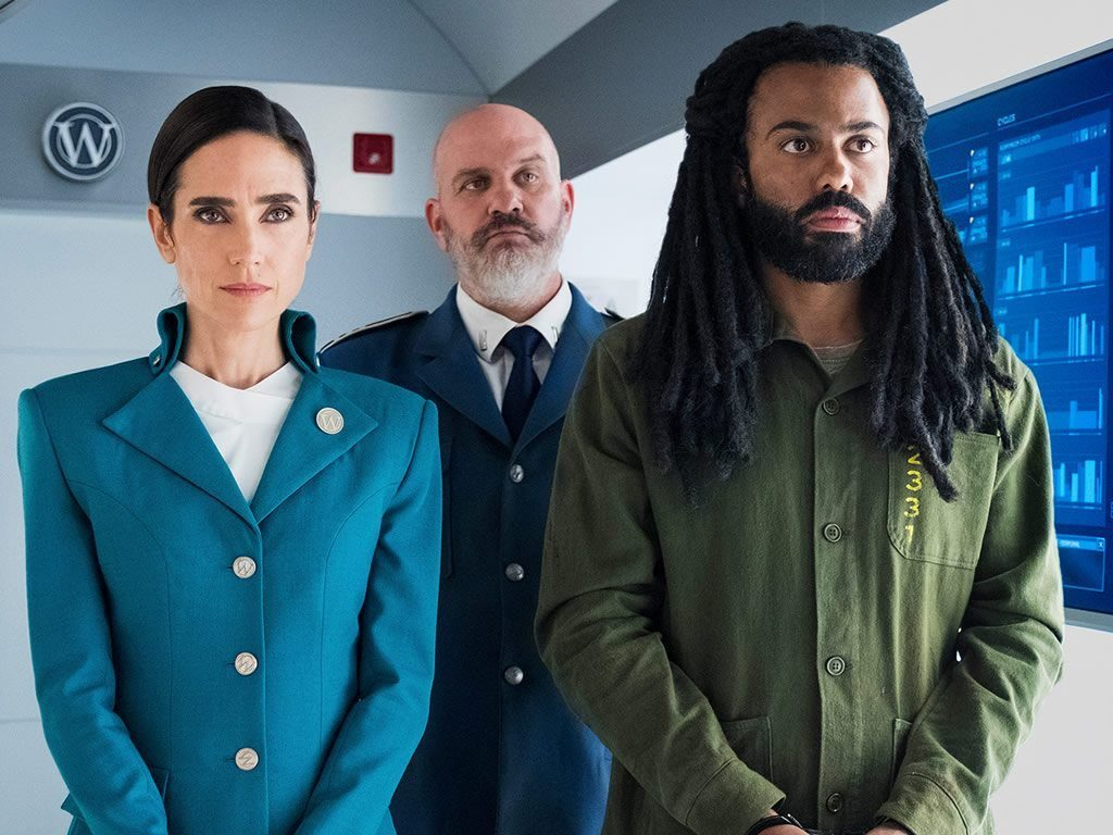 Jennifer Connelly, Mike O'Malley y Daveed Diggs en 'Rompenieves'