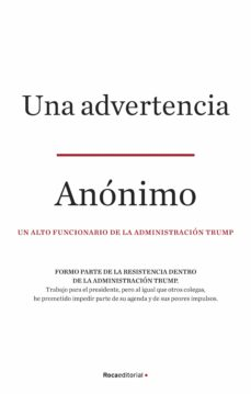 Una advertencia