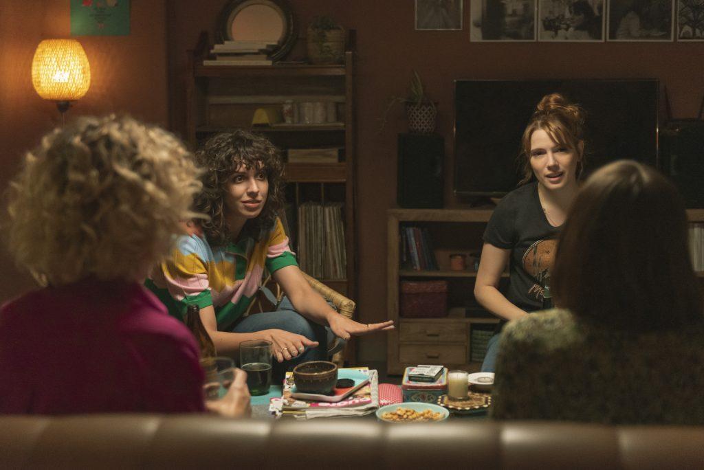 Diana Gómez, Silma López, Paula Malia y Teresa Riott en 'Valeria'