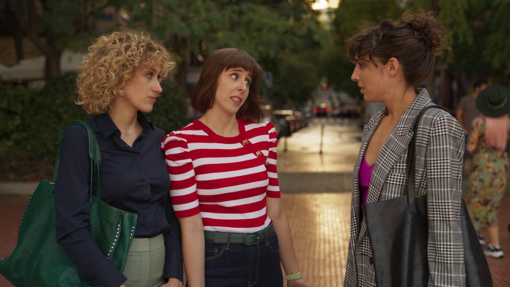 Teresa Riott, Paula Malia y Silma López