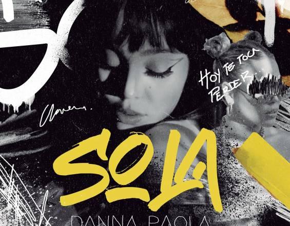Danna Paola Sola portada single