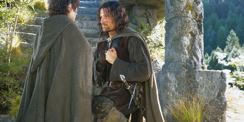Aragorn y Frodo