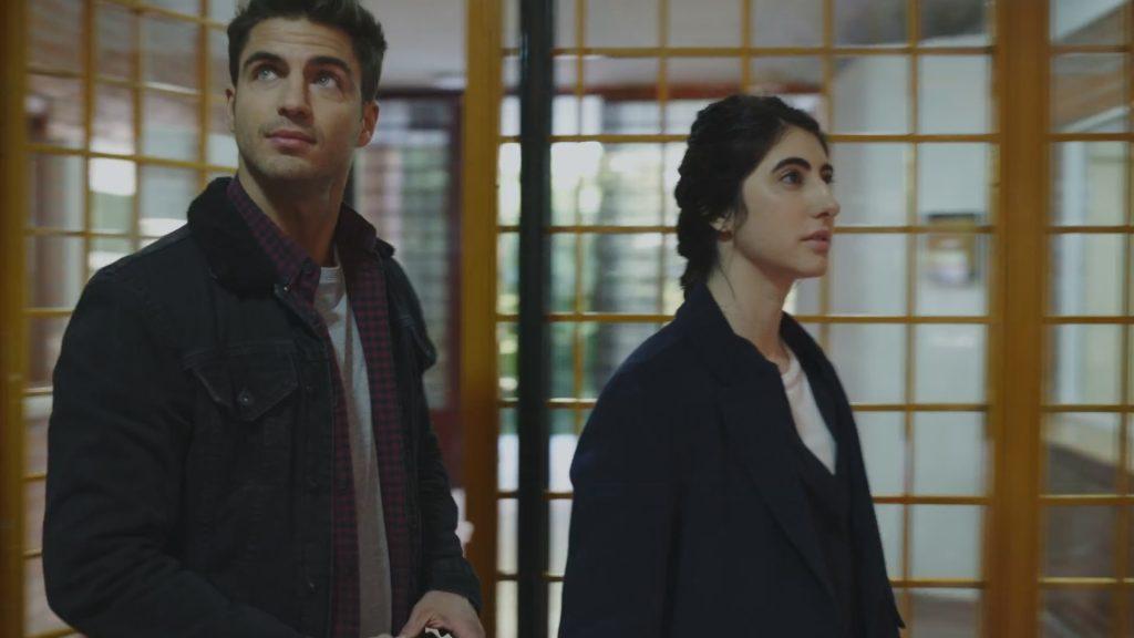 Maxi Iglesias y Amanda Ríos en 'Desaparecidos'