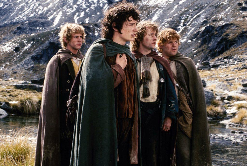 Frodo, Sam, Pippin y Merry