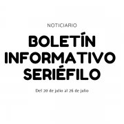 Boletín informativo seriéfilo