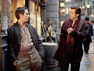 Christian Bale y Hugh Jackman en 'El truco final'
