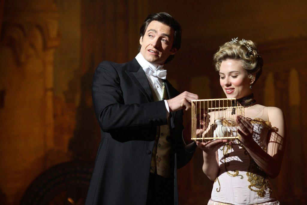 Hugh Jackman y Scarlett Johansson en 'El truco final'