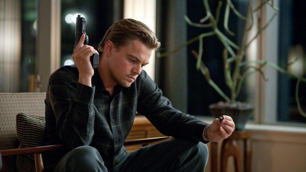 Leonardo DiCaprio en 'Origen' (2010)