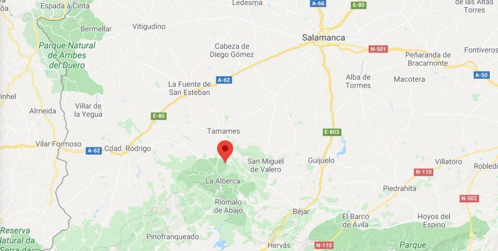 Sierra de Francia - Google Maps
