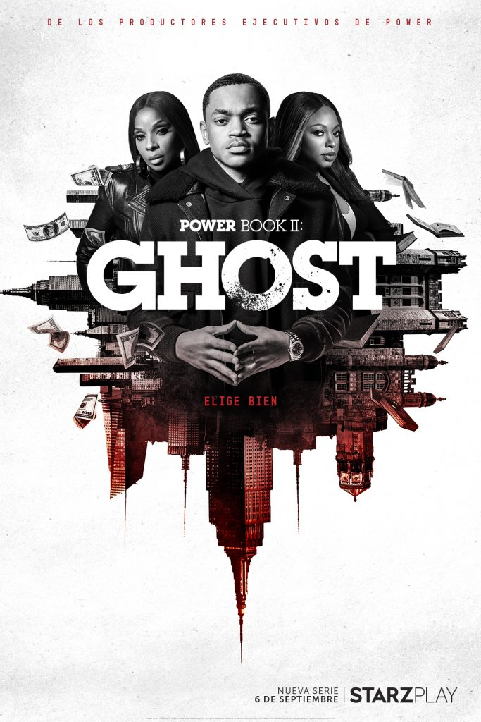 Cartel oficial de Power Book II: Ghost