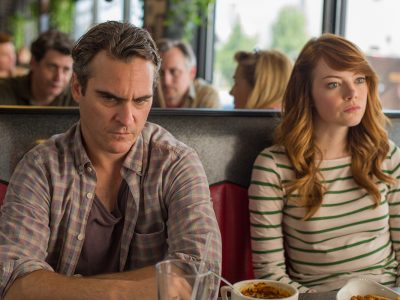 Joaquin Phoenix y Emma Stone en 'Irrational Man'