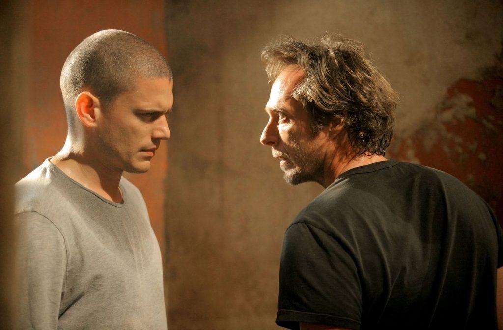 Michael Scofield y Alex Mahone en 'Prison Break'