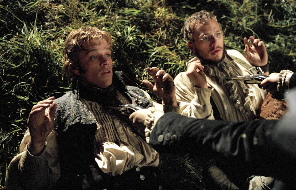 Matt Damon y Heath Ledger en 'El secreto de los hermanos Grimm'