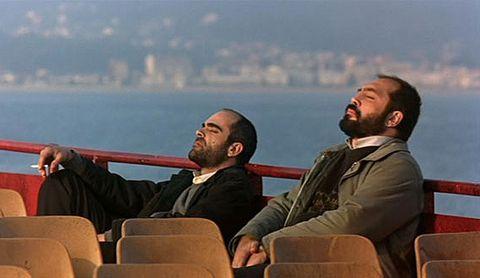 Javier Bardem y Luis Tosar en 'Los lunes al sol'