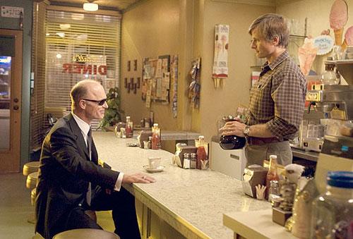 Ed Harris y Viggo Mortensen en Una historia de violencia