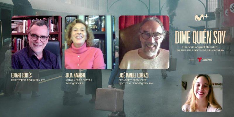 Julia Navarro, Eduard Cortes y Jose Manuel Lorenzo - Dime quién Soy