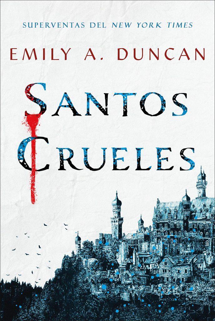 Portada de 'Santos crueles'