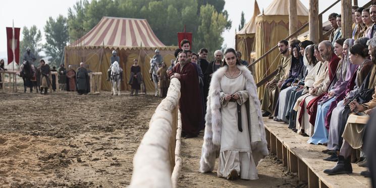 Alicia Sanz es la Infanta Urraca