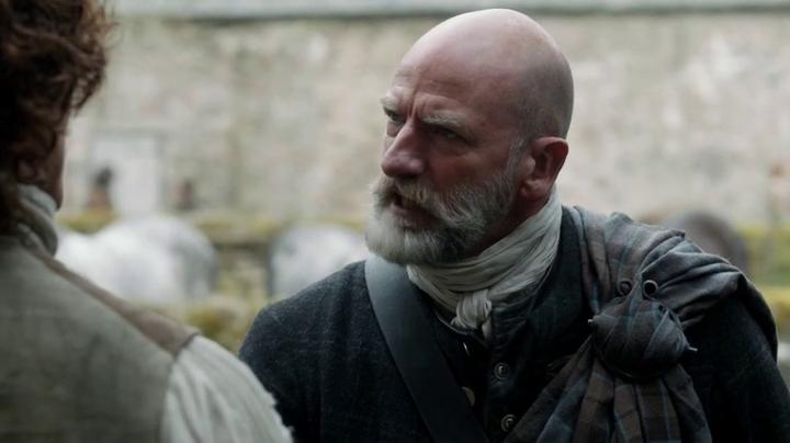 Dougal en 'Outlander' 1x07