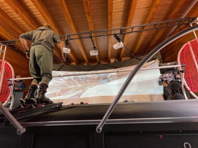 simulador de esquí